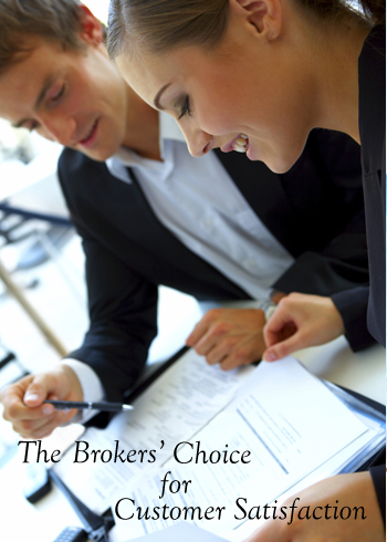 The brokers choice in customer satisfaction
